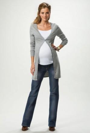 Una embarazada molona y estilosa