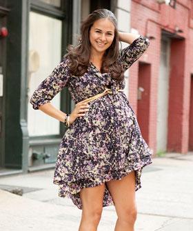 6def41b469 No descartes utilizar un vestido de los que tienes en el armario. Con un  cinturón lo puedes convertir en una prenda premamá genial.