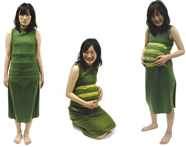 a61af6de5 Una embarazada molona y estilosa