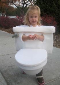 Girl-Toilet