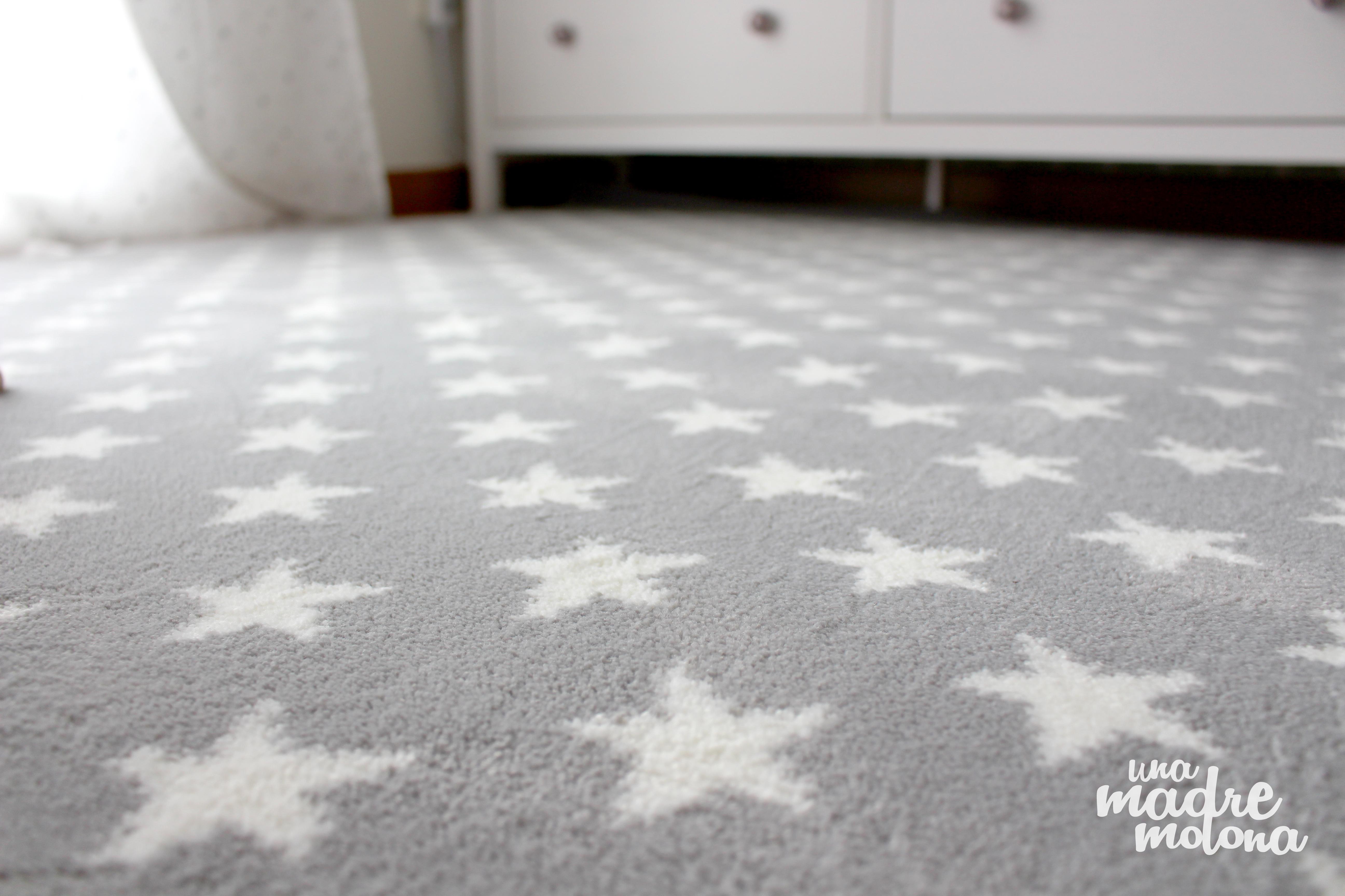 La habitaci n de ni omol n for Ikea alfombra azul