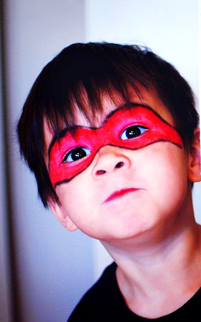 easy face paint for toddler boys3